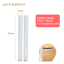 free shipping 5pcs 75mm*7mm Humidifiers Filters Cotton Swab for USB Air Ultrasonic Humidifier 10pcs replacement filters usb humidifier cotton sliver stick cup air humidifier replacement filters high quality