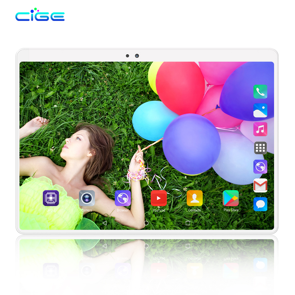 10 Inch Tablet PC 3G 4G LTE Android 9.0 Octa Core Metal Tablets 6GB RAM 64GB ROM WiFi GPS 10.1 Tablets IPS