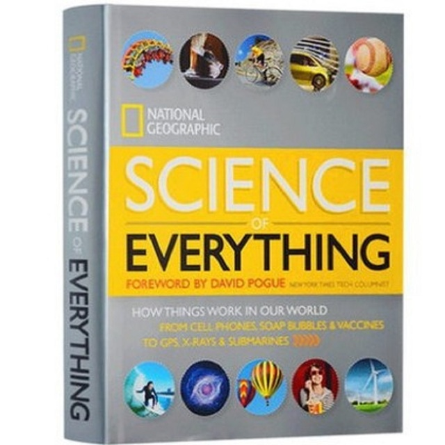National Geographic Science of Everything How Things Work in Our World English Reading Books Children s