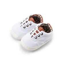 Обувь для новорожденных мальчиков и девочек; Классическая парусиновая