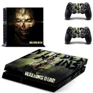 Image 1 - The Walking Dead PS4สติกเกอร์Play Station 4สติกเกอร์ผิวเกมสำหรับPlayStation 4 PS4คอนโซลและคอนโทรลเลอร์สกินไวนิล