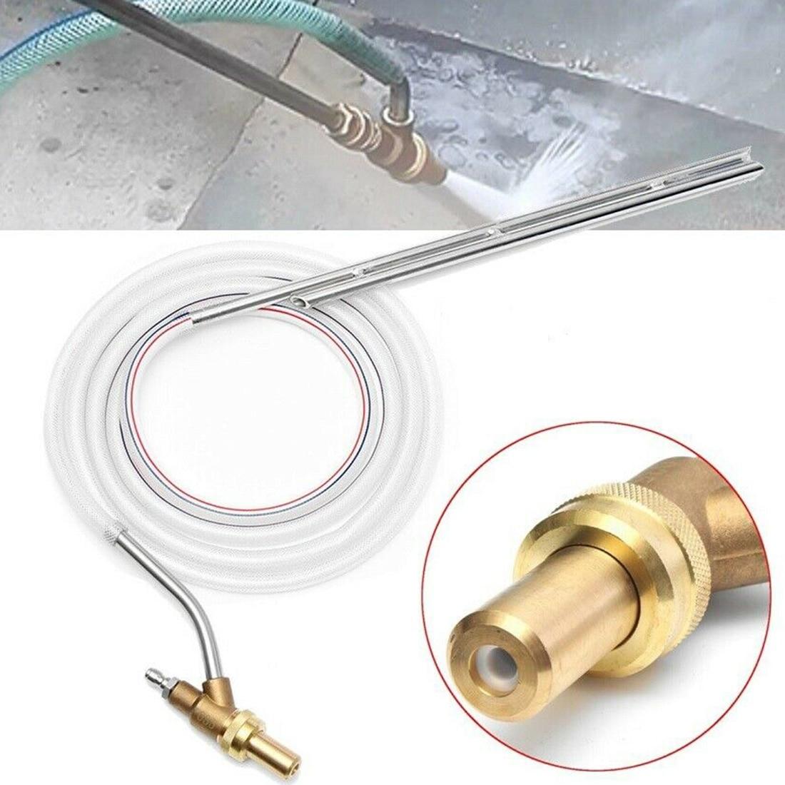 Portable Sand Blaster Wet Blasting Washer Sandblasting Kit For Karcher Series High Pressure Washers Blasting Gun Lance Spear