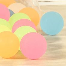50 Pcs 32mm Glow Bouncy Ball for Kid Halloween Party Props Assorted Colored Ball Y4UD