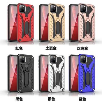 Phone Case For iPhone 11 Pro XS Max Case Silicone Magentic Ring Car Holder Cover For iPhone 6 6S 7 8 Plus X XR Cases Funda Coque image