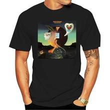 Camiseta negra para hombre, camisa de cantante y músico de Luna Rosa, de talla S a 3Xl