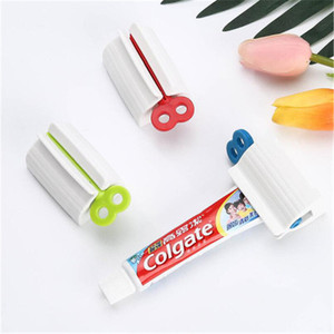 Manual Lazy Toothpaste Dispenser Tube Squeezer ABS Squeezing Tools Hair Color Dye Cosmetic Paint Squeezer Tube Wringer 1pc(China)