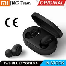 W magazynie Xiaomi Redmi Airdots Xiaomi słuchawki bezprzewodowe sterowanie głosowe Bluetooth 5 0 redukcji szumów dotknij kontroli tanie tanio Brak Prawda bezprzewodowe Dynamiczny Dla Telefonu komórkowego Sport 4 Hours 12 Hours
