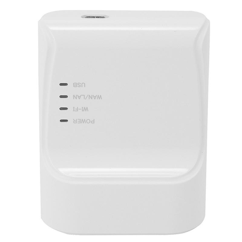 Wifi Ethernet Usb Printe Server Adapter Auto Queue Connect over Wifi&100M Lan for Usb Printer Laptop Pc EU Plug