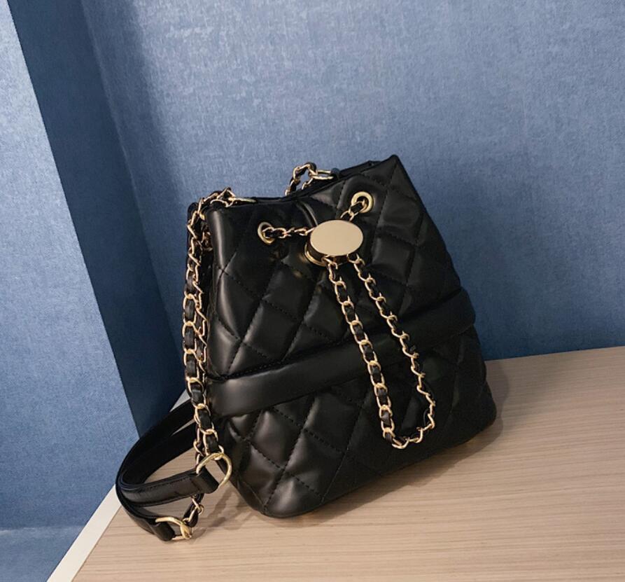 Женская сумка с ромбической текстурой, новая модная сумка на плечо с цепочкой