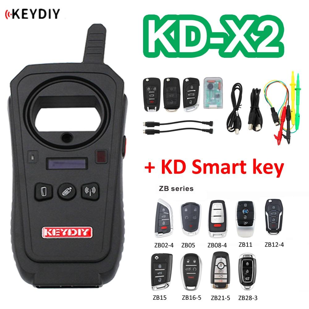 KEYDIY оригинальный телефон с дистанционным управлением, раскладной генератор ключей, 96 бит, 48 транспондер, с KD смарт-ключом, сборщик данных KD