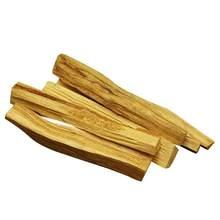 6 pçs/1pc palo santo incenso natural varas de madeira vara de borrão aromaterapia queimar varas de madeira nenhuma fragrância (tipo aleatório)