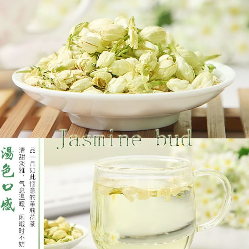Camellia Jasmine Tea Jasmine Tea Jasmine Bud Super Luzhou fragrant Bud Dry Flowers 250g Package Mail|Tea Cutters| |  - title=