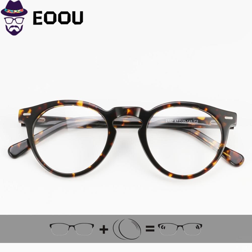 Пилот Мода ацетатная оправа для очков для женщин и мужчин Рецептурные очки Oculos de sol 1,61 ИНДЕКС анти голубой свет оптические очки      - AliExpress