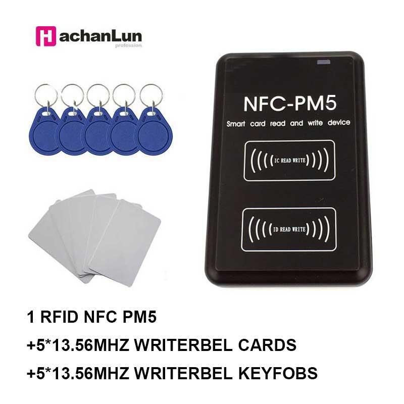 NEW PM3 IC Reader Writer 13.56MHZ RFID NFC Duplicator Full Decoding Function Card Copier