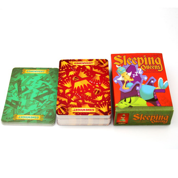 Full English Sleeping Queens Board Game 2-5 Players For Family  Gift Wake Queens Up Strategy Game Funny Kids Game Toys deep sea adventure game with english instructions funny cards game 2 6 players family party game