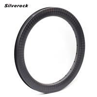 SILVEROCK 16 1 3/8 349 Carbon Rim For Folding Bike Bicycle Rims 24H 38mm Disc Brake Clincher Rims Matte
