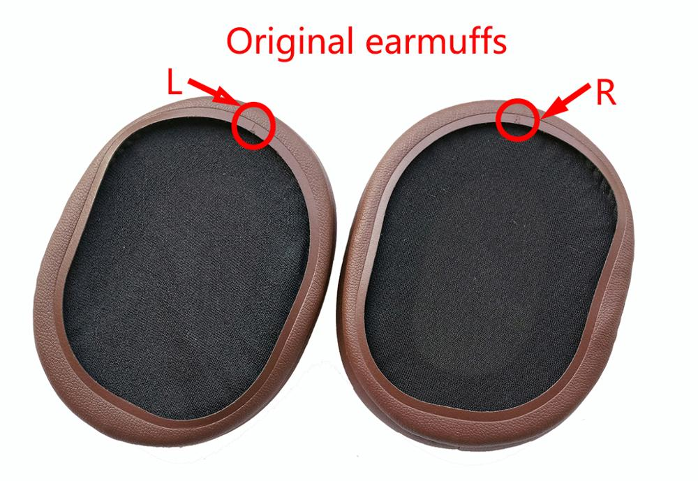 Купить с кэшбэком Replacement Ear pads Compatible for Audio-Technica ATH-MSR7 ATH-MSR7LTD ATH-SR7BT  headset .Original earmuffs
