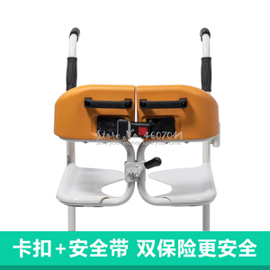 Image 4 - Multifunctional Elderly Care Wheelchair Stable Stroller Chair Patient Movement Machine Toilet Bath Chairs Bearing 120kg