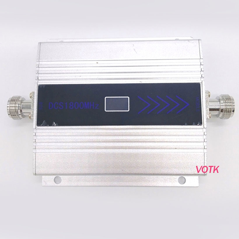 NEW VOTK 4G Signal Repeater  Cell Phone 4G LTE Signal Booster High Gain 1800mhz 4G  Signal Amplifier With EU Power Adapter