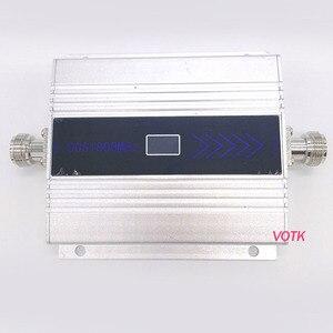 Image 1 - Novo votk 4g sinal repetidor celular 4g lte sinal impulsionador alto ganho 1800mhz 4g amplificador de sinal com adaptador de energia da ue