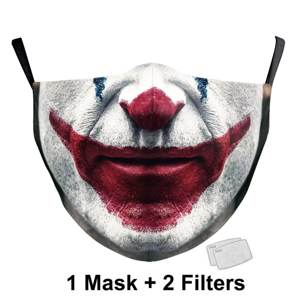 Flower Face Casual Mask Aztec Printed Masks Fabric Adult Mouth Cover Washable Reusable Mouth Mask Women Face Cover 37