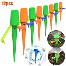 New Automatic Watering Device Adjustable Water Flow With Switch Control Valve Drip Irrigation System Drip Device hometree automatic watering device garden watering adjustable water flow water seepage plant potted watering lazy artifact h1299