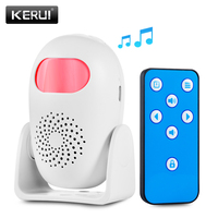 KERUI M120 Home Security Alarm Anti theft PIR Motion Detektor Drahtlose Türklingel Willkommen Alarm System Mit Fernbedienung-in Alarm System Kits aus Sicherheit und Schutz bei