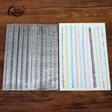 QITAI tampons clairs CLS160 Scrapbook papier artisanat tampon Transparent pour bricolage Scrapbooking carte tampons transparents faisant Album Photo nouveau(China)