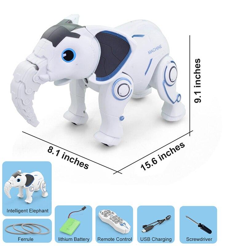 brinquedo cantando dança elefante robô inteligente educação