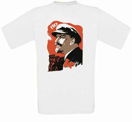 Lenin Cccp Unione Sovietica Urss Russland Comunismo T-Shirt Tutte Taglie Nuovo