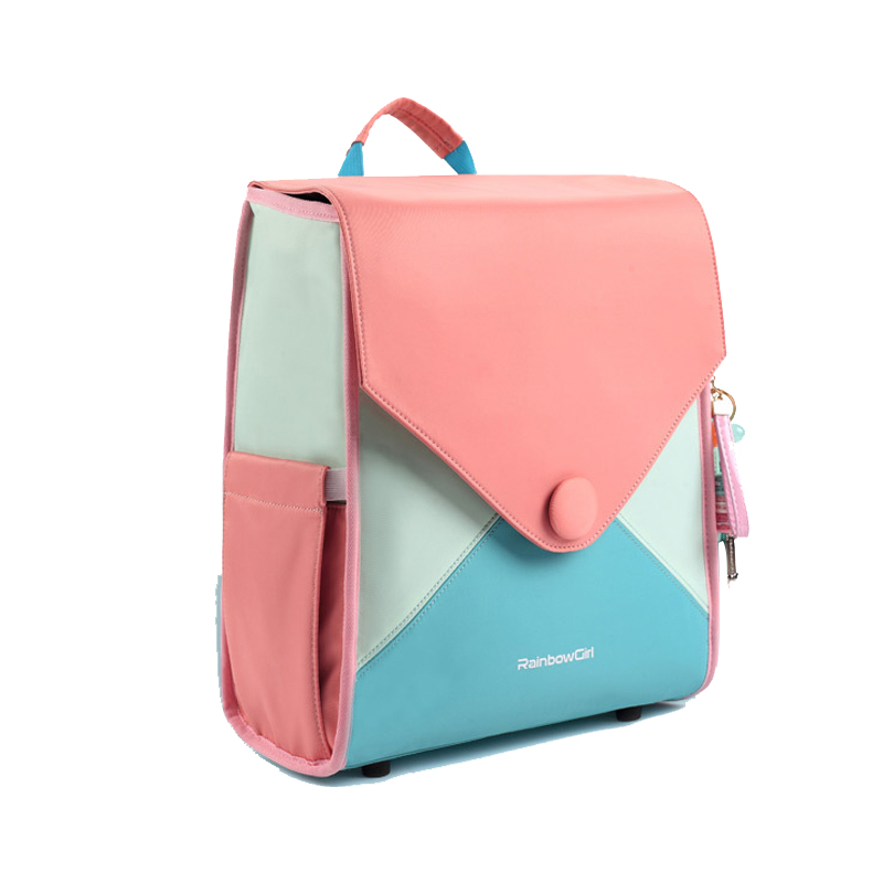 New Kids School Bags For Teenage Girl Children Backpack Waterproof Candy Color School Backpack Girl Kids Backpack Girls Kids Bag