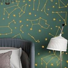 Настенные наклейки с созвездиями в новом стиле съемное украшение