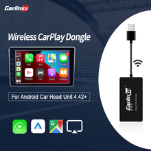 Carlinkit filaire/sans fil Carplay Dongle pour Android écran Navigation lecteur Smart Link box Apple Carplay Dongle Android Auto