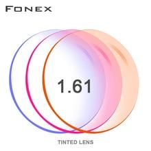 1.56 1.61 1.67( 0.50 ~ 8.00) tinta tintura prescrizione CR 39 resina occhiali da vista lenti miopia ipermetropia specchio occhiali da sole lente