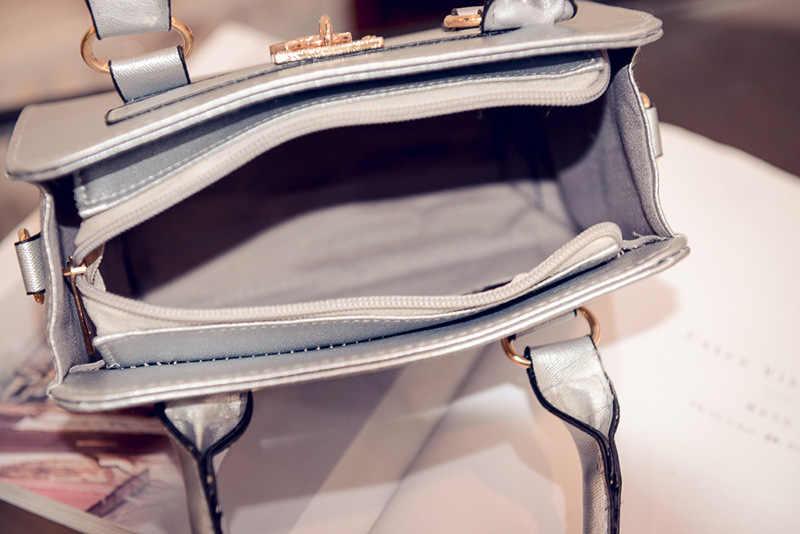2019 новая трендовая женская Сумка Сладкая леди круглый замок текстурные штампы плечевая сумка диагональная поперечная Сумка Сумочка sac femme
