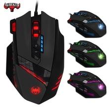 12 key programmering muis Jedi survival pistool geen achterbank macro 4000dpi gaming muis bedrade gaming muis Met gewogen gewicht