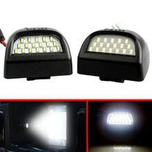2 шт задние номерные знаки 18 светодиодный фонарь для chevrolet