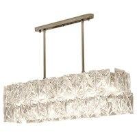 Modern luxury crystal chandelier new design frame chrome crystal chandelier restaurant living room light