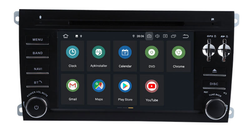 Best Android 9.0 Octa Core  Car DVD Player Stereo System For Porsche Cayenne With Canbus Wifi GPS Navigation Radio Carplay 11