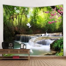 3D beautiful landscape landscape hippie wall bohemian wall tapestry mandala wall art decoration tapestry