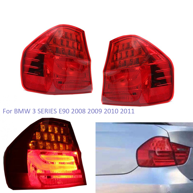 BMW 3 Series E90 2008-2012 Saloon Inner LED Rear Tail Light Pair Left /& Right