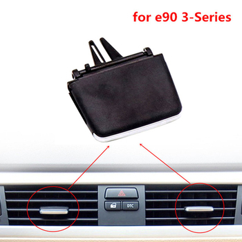 A/C Air Outlet Vent Wing Direction Adjustment Pick Tab Clip Replacement For BMW 3 Serie E90 Car Accessories image