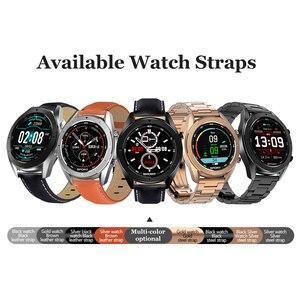 Image 5 - DT99 Smart Watch IP68 Waterproof Round HD Screen ECG Detection Changeable Dials Smartwatch Fitness Tracker Men
