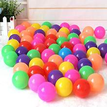 50/100/200Pcs Eco-Friendly Colorful Ball Kids Swimming Soft Plastic Water Pool Ocean Wave Balls Swim Pit Children Bathing Toys(China)