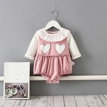 Baby Clothes Autumn Winter Baby Girls Bodysuit Newborn Outfits One-Piece Thicken