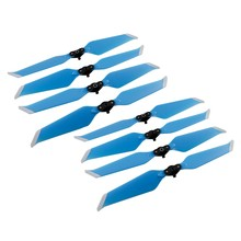Para dji mavic 2 pro zoom zangão acessórios 8 pçs cor hélices dobráveis baixo ruído lâmina de liberação rápida 8743f adereços baixo ruído