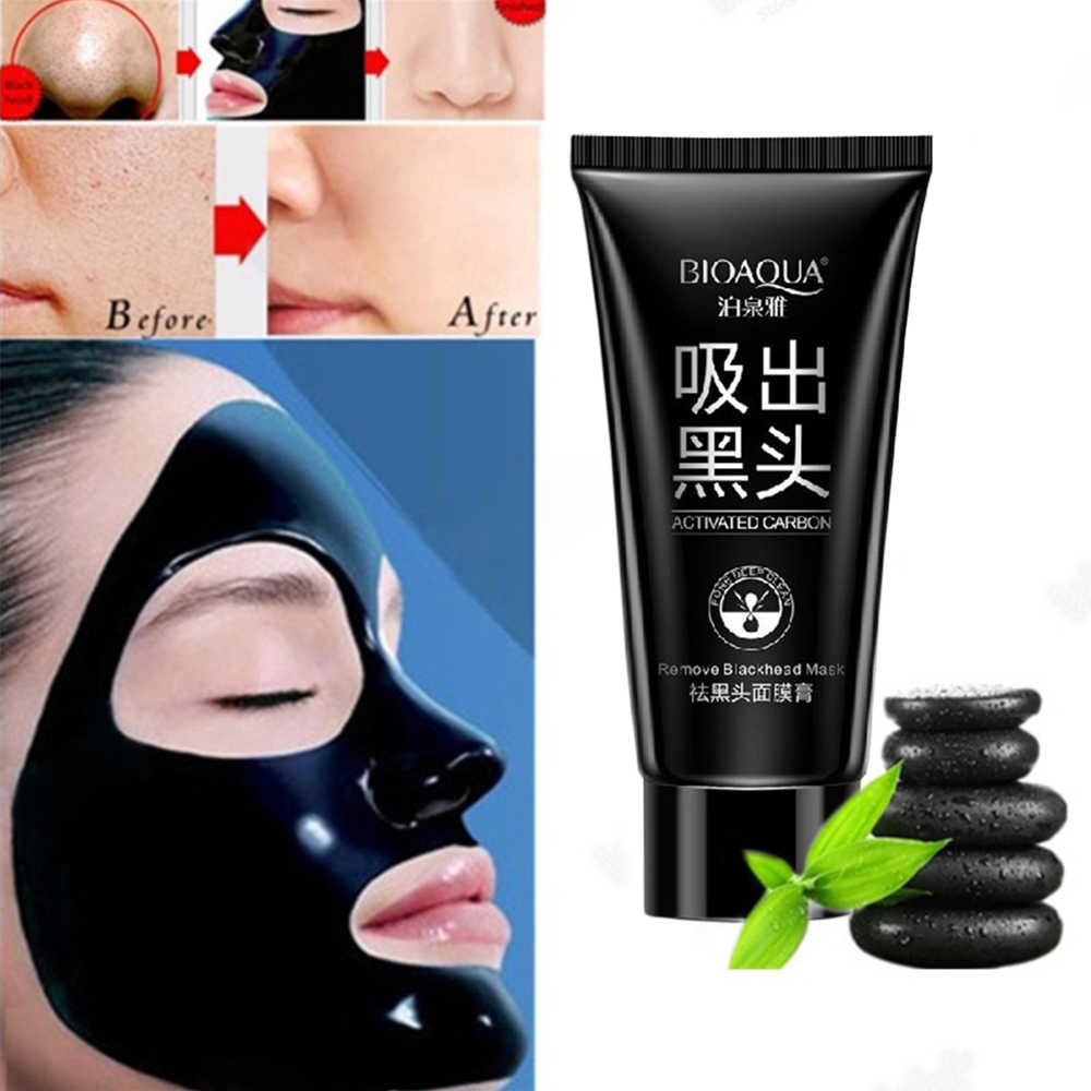 Beauty Nose Mask Herbal Blackhead Removal Black Mask Face Mask Black Head Pore Strip Peel Off Makeup Black Dots Mask 60g