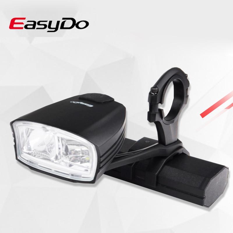 Easydo Smart Hoge/Dimlicht Fiets Licht Schakelaar Intelligente MTB Racefiets Stuur Koplamp USB Oplaadbare Voor LED Lamp