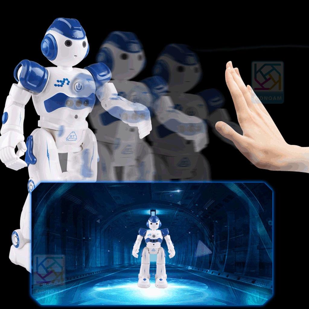 Интеллектуальный робот, многофункциональная детская игрушка с USB-зарядкой, танцевальный пульт дистанционного управления, датчик жеста, игрушка для детей, подарки на день рождения 4