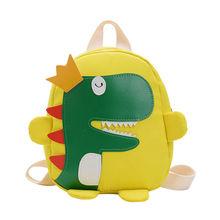 Cute toddler kid kindergarten school bag 3D cartoon dinosaur mini backpack new b